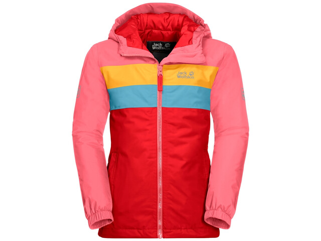 Jack Wolfskin Four Lakes Jack Kinderen, fiery red